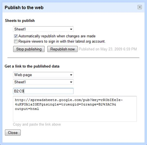 Publish Spreadsheet To Web by Digitaltripssite Publish Spreadsheets In Docs