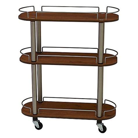 bed bath and beyond cart household essentials 174 3 shelf utility cart bed bath beyond