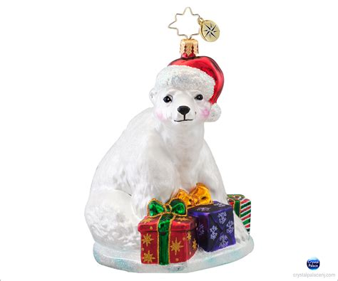 christopher radko polar presents christmas ornament