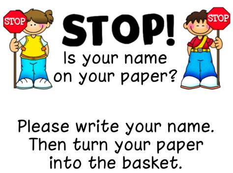 ways to write your name on paper remembering names on papers ladybug s files