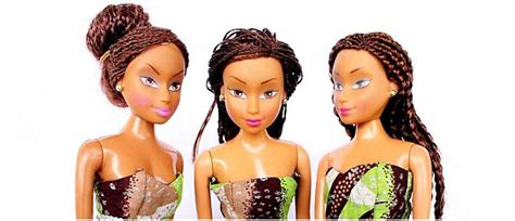 black doll outsells styled of africa doll outsells