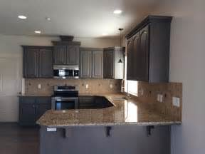 Gray Stained Kitchen Cabinets Gray Stained Kitchen Cabinets Traditional Kitchen Boise By Revive Cabinetry