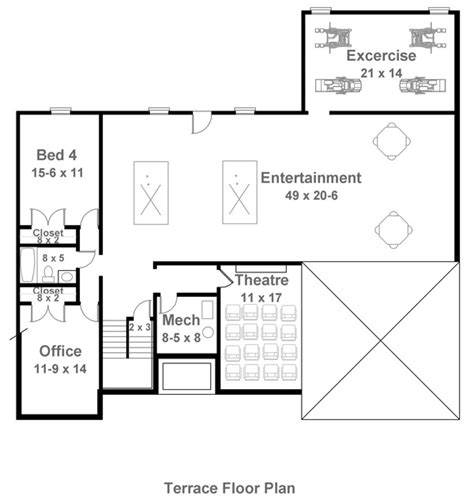 mystic 1850 3 bedrooms and 2 5 baths the house designers