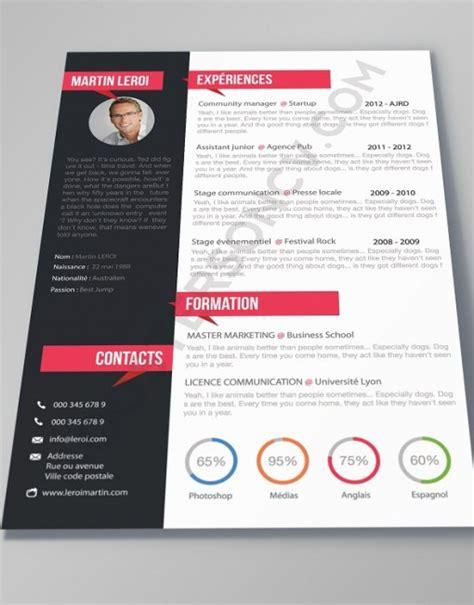 design cv gratuit word cv manager boostersoncv