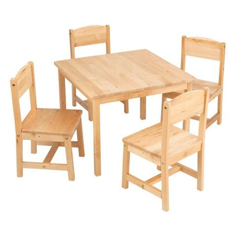 farmhouse table 4 chair set
