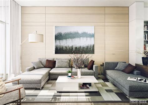 modern livingroom light filled contemporary living rooms