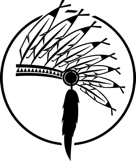 indian headdress coloring sheet free native pattern animals coloring pages