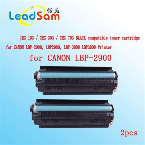 Toner Canon Lbp 2900 2pcs crg103 crg303 crg703 compatible black toner