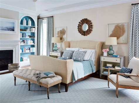 blue and beige bedroom 10 signs that you should become an interior decorator