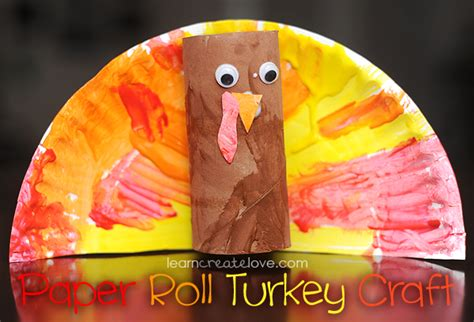Toilet Paper Roll Turkey Craft - interesting diy toilet paper crafts will this