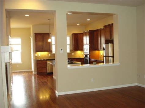 kitchen half wall ideas half wall between dining and living room living room