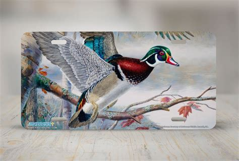 lakeside woodworking airstrike 174 5240 quot lakeside wood ducks quot license plate