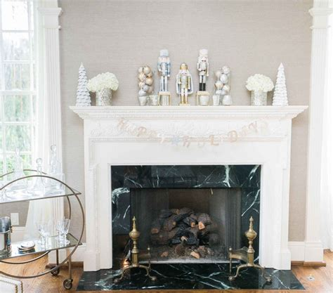 decorate your fireplace mantel for the holidays