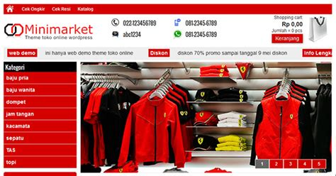 download theme toko online untuk wordpress gratis download gratis theme toko online minimarket mantri theme