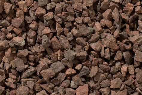 chippings red granite mm