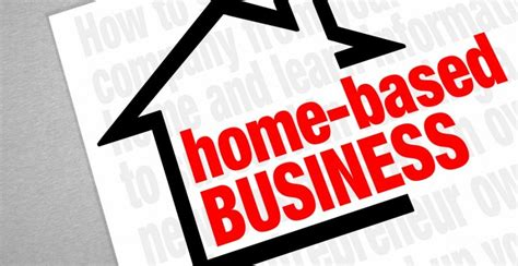benefits of starting a home based business business