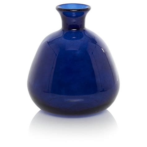 george home blue glass vase home accessories
