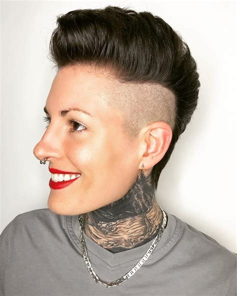 mohawk on chubby cheeks punky haircuts haircuts models ideas