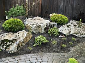 Rock In Garden Backyard Gardens On Japanese Gardens Zen Gardens And Garden
