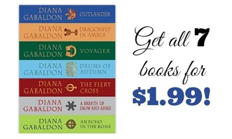 99 for 1 books deal outlander series for 1 99 southern savers