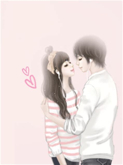 wallpaper cute couple korean my dream world enakei couple