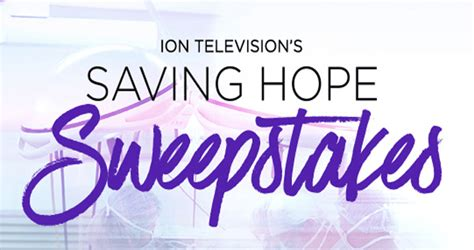 Iontelevision Com Sweepstakes - ion television saving hope sweepstakes