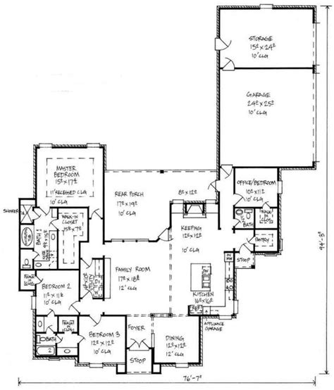 4 bedroom 2 bath floor plans 653449 country 4 bedroom 2 5 bath house plan with great kitchen and keeping room