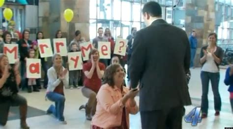 Flash mob marriage proposal 2014 toyota
