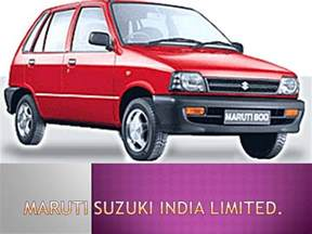 Maruti Suzuki Udyog Ltd Maruti Suzuki India Limited Authorstream