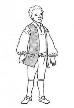 colonial boy coloring page 1000 images about colonial days costume on pinterest