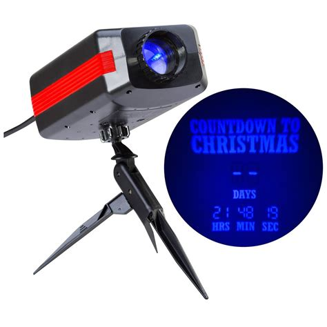 upc 086786126660 led projection countdown to christmas
