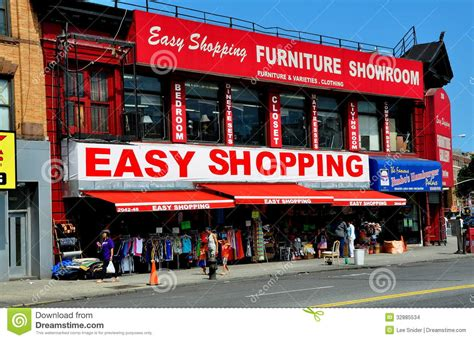 Harlem Furniture Stores by Nyc Furniture Store In Harlem Editorial Stock Image