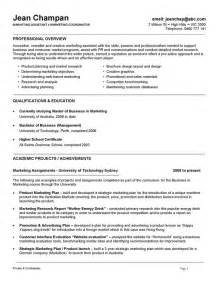 Resume Template For Australia by Resume Format Australia It Resume Cover Letter Sle
