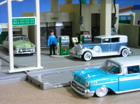 Tomica Town Station resti s classic sports diecast tomica town jomo gas station