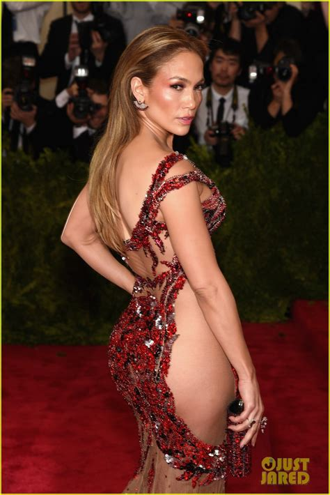 Full Sized Photo of jennifer lopez no underwear at met gala 04   Photo 3362660   Just Jared