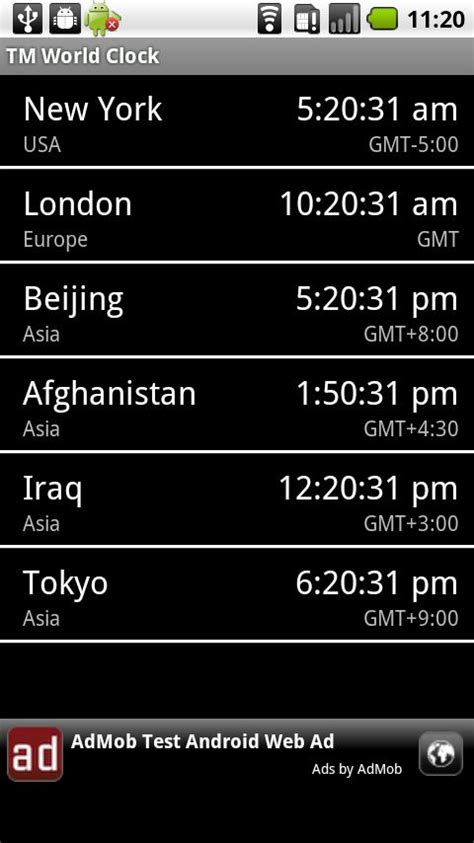 best android world clock world clock widget android app review world