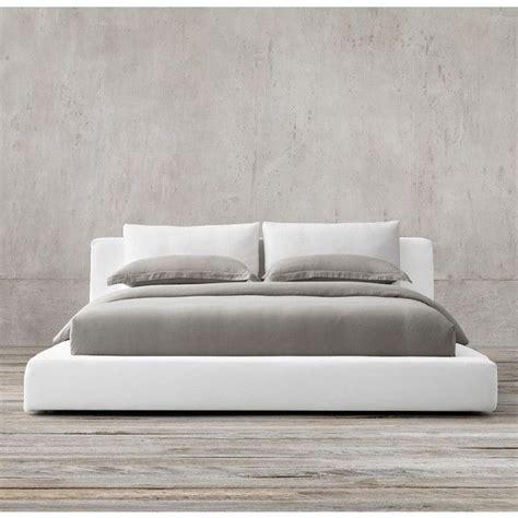 cloud platform slipcovered bed  cad