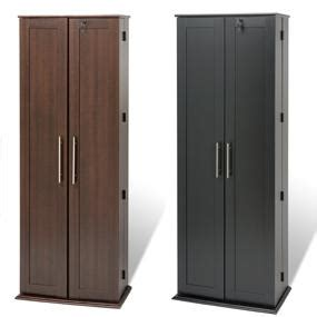 espresso locking media storage cabinet with shaker doors espresso grande locking media storage cabinet
