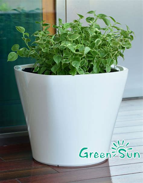 Best Place To Buy Flower Pots Best Selling Flower Pot With Water Level Indicator Self