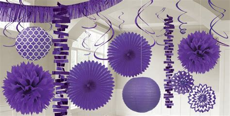 purple home decorations purple decorations purple balloons banners confetti