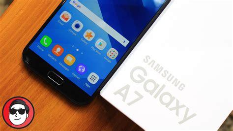 Samsung Galaxy A7 Unboxing unboxing samsung galaxy a7 2017 uhhuuuuuu