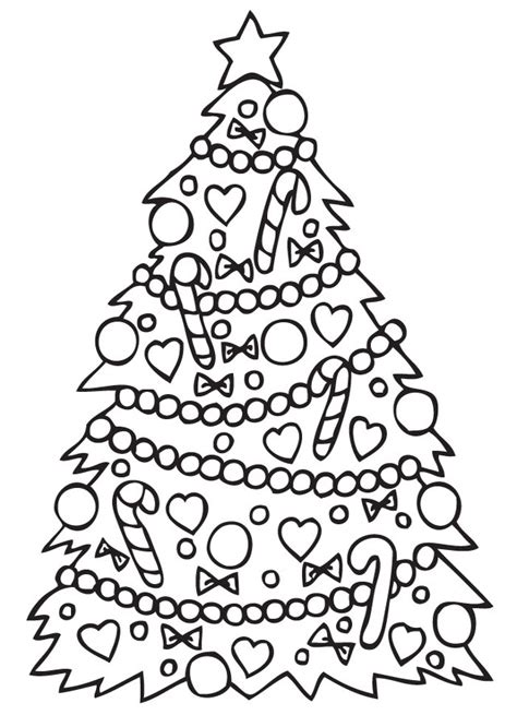 para pintar arbol de navidad navidad dibujos para colorear