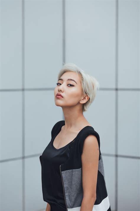 blond asian of asia best 25 asian pixie cut ideas on asian hair