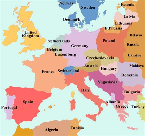 map of europe europe map on europe area pictures map of cities