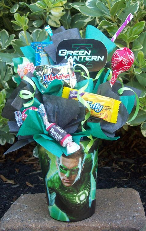 green lantern favors made by lynnscandycreations 4 75 goody bags ideas