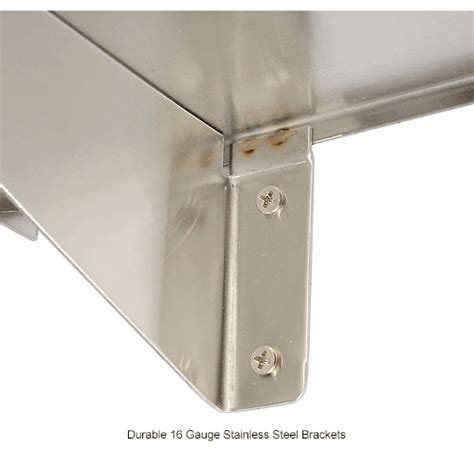 Bobrick Stainless Steel Shelf by Bathroom Supplies Bathroom Shelves Bobrick 174 Stainless Steel Shelf 24 Quot W X 8 Quot D B298x24