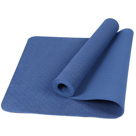 solid color exercise fitness non slip mat lose