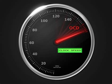 themes clock speed single review o c d clock speed red rose music lancs