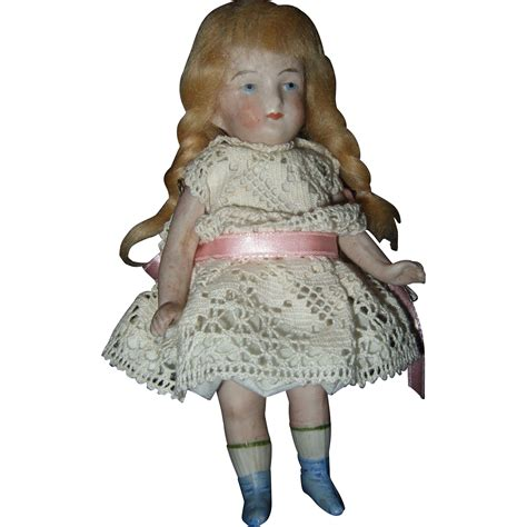 antique bisque german doll antique all bisque german dollhouse doll sold on ruby