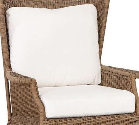 Outdoor Armchair Cushions by Saybrook Wingback Armchair Replacement Cushion Set